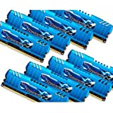 G.SKILL Ripjaws Z Series 64GB (8 x 8GB) 240-Pin DDR3 SDRAM 2400 (PC3 19200) Desktop Memory Model F3-2400C11Q2-64GZM