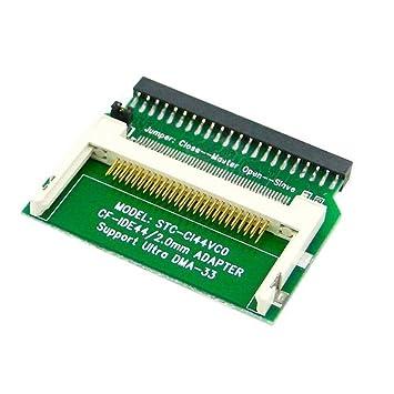 La tarjeta de memoria CF Compact Flash para 44pin 2,5 ...