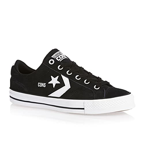b7f08a6d7af3 Converse Star Player Pro Ox Skate Shoes - Black White-9.5  Amazon.ca ...