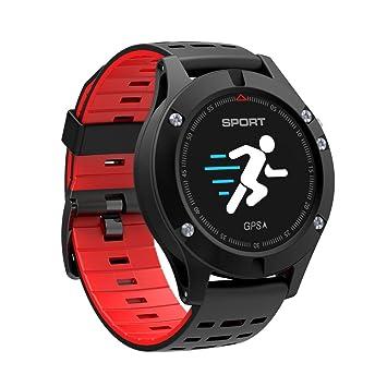 lennonsi Reloj GPS Multideporte, Reloj Deportivo Inteligente Bluetooth 4.2 IP67 a Prueba de Agua del
