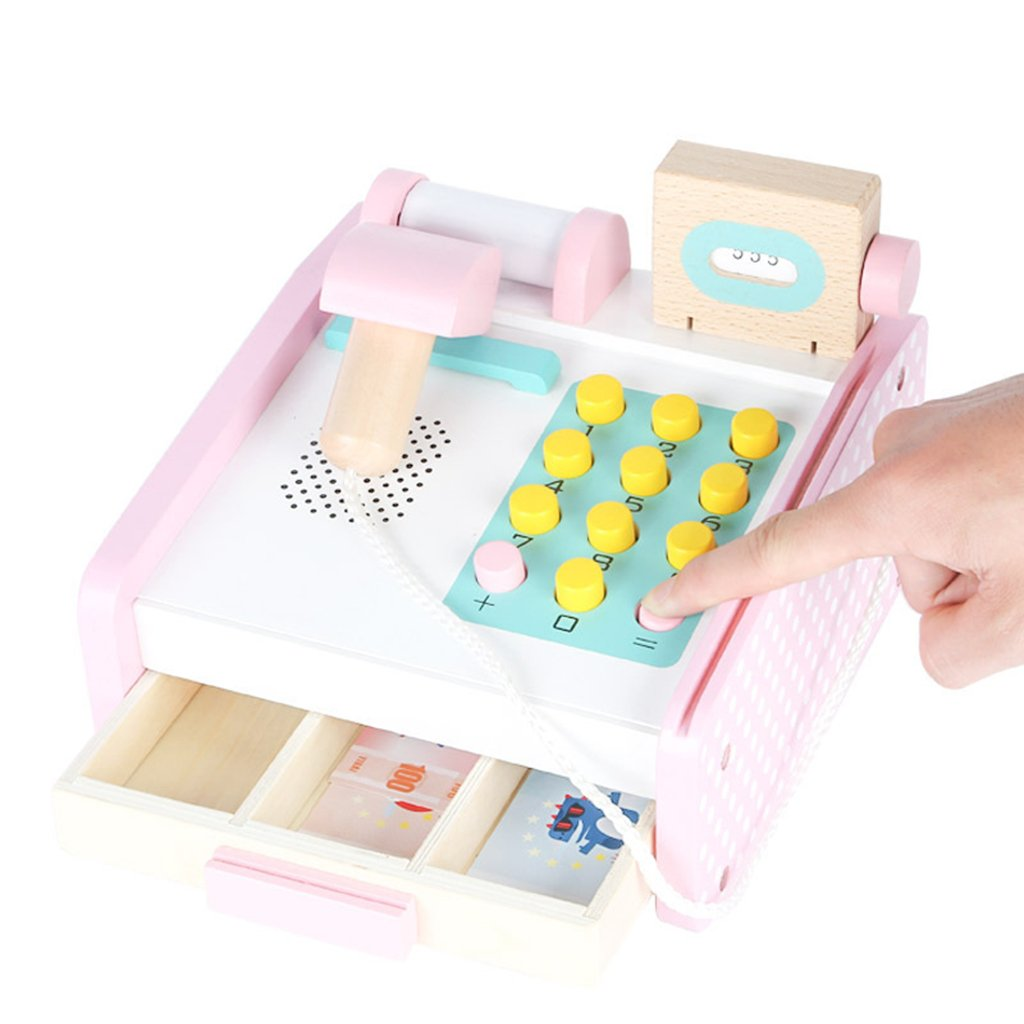 cc99892a8d33cb Amazon   Baosity キャッシュレジスター おもちゃ お店屋さん ままごと ごっこ遊び レジ スーパーマーケット道具   お店屋さん    おもちゃ