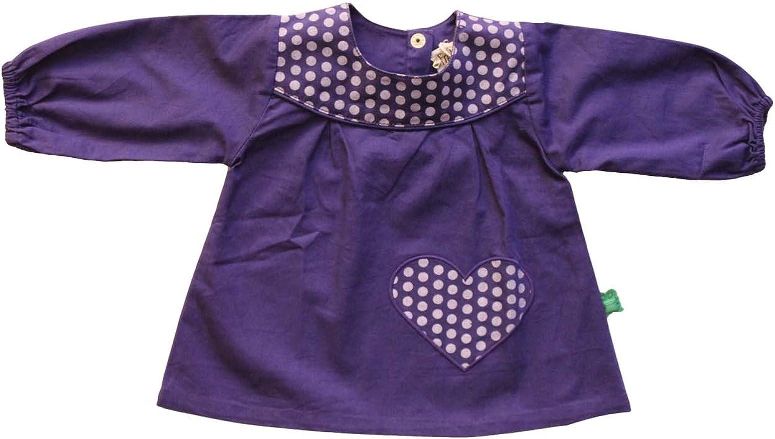 Freds World by Green Cotton - Blusa para niña violeta de 100% algodón, talla: 74cm (9-12 meses): Amazon.es: Ropa y accesorios