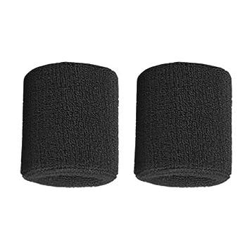 IronHeel 1 par de Pulseras de algodón Puro Muñequera Suave Bandas ...