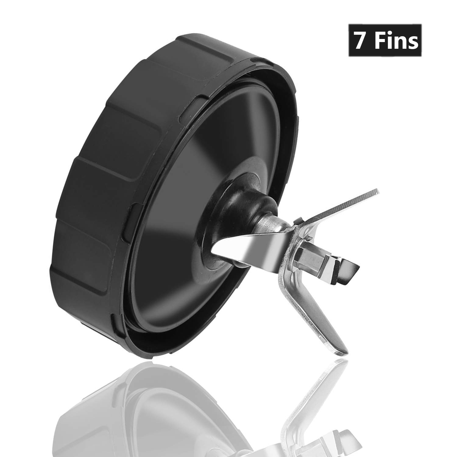 7 Fins 7 Fins Replacement Extractor Blade for Nutri Ninja Blender Replacement Parts Auto iQ Blade BL480-30 BL482 BL642 NN102 BL682 BL2013 BL640 BL642Z BL480D