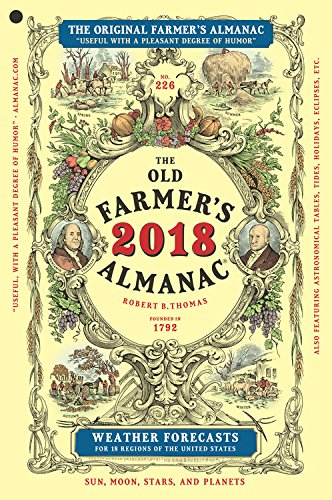 The Old Farmer's Almanac 2018 cover