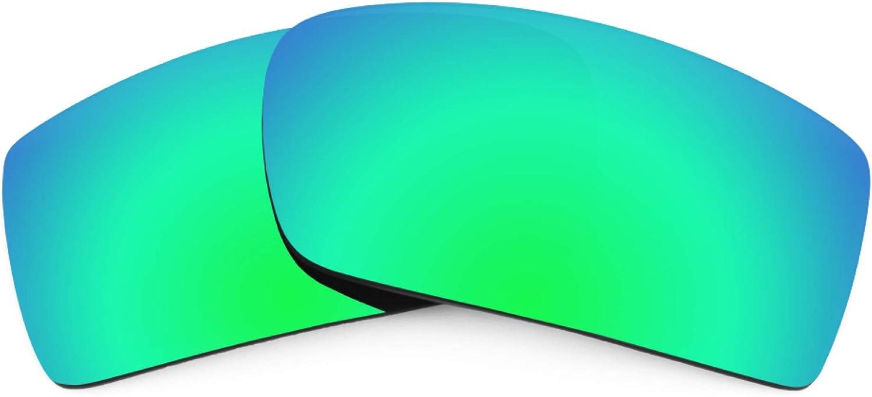 Revant Verres de Rechange pour Tifosi Crit Vented - Compatibles avec les Lunettes de Soleil Tifosi Crit Vented Vert Émeraude Mirrorshield - Polarisés