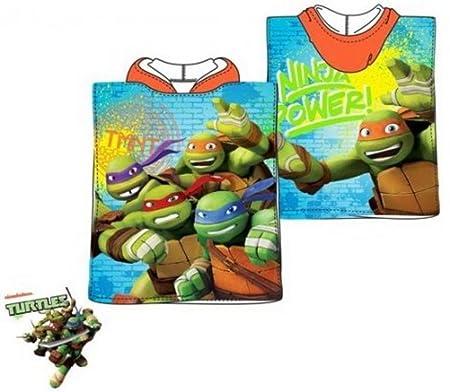 character Mutant Ninja Turtles - Toalla de Poncho (50 x 100 ...