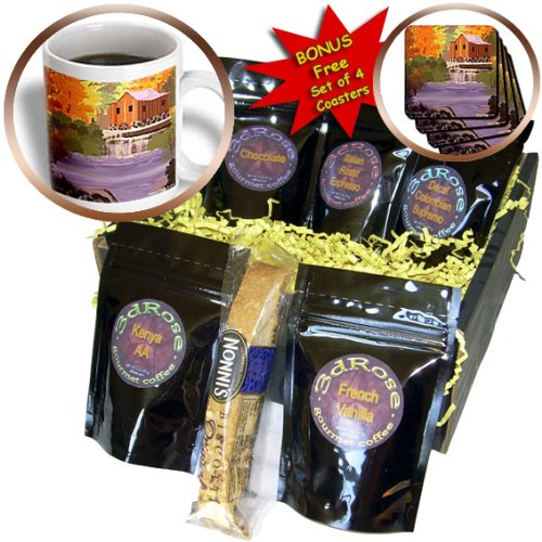 Edmond Hogge Jr Nature - New England Fall Foliage - Coffee Gift Baskets - Coffee Gift Basket (cgb_18705_1)