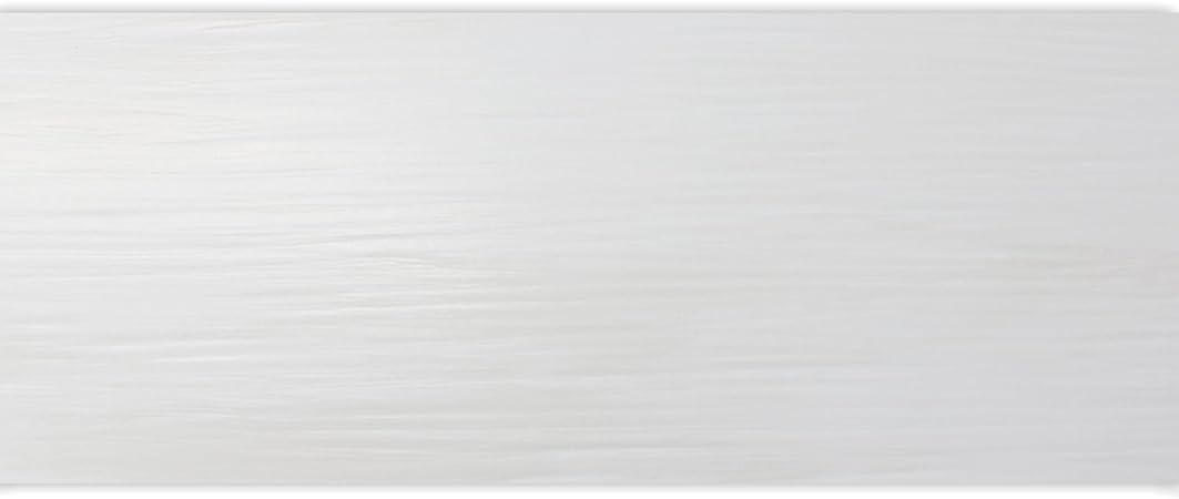 Carrelage Mural Rayures Blanc Mat 20 X 60 Cm Amazon Fr Bricolage