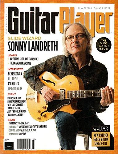 Guitar Player Magazine - Guitar Player Magazine July 2018 | Sonny Landreth