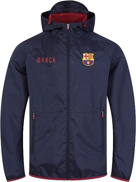 FC Barcelona - Chaqueta cortavientos oficial - Para hombre: Amazon.es: Ropa y accesorios