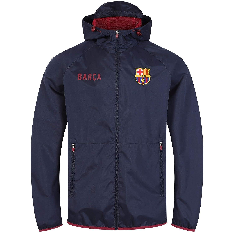 FC Barcelona - Chaqueta cortavientos oficial - Para hombre ...