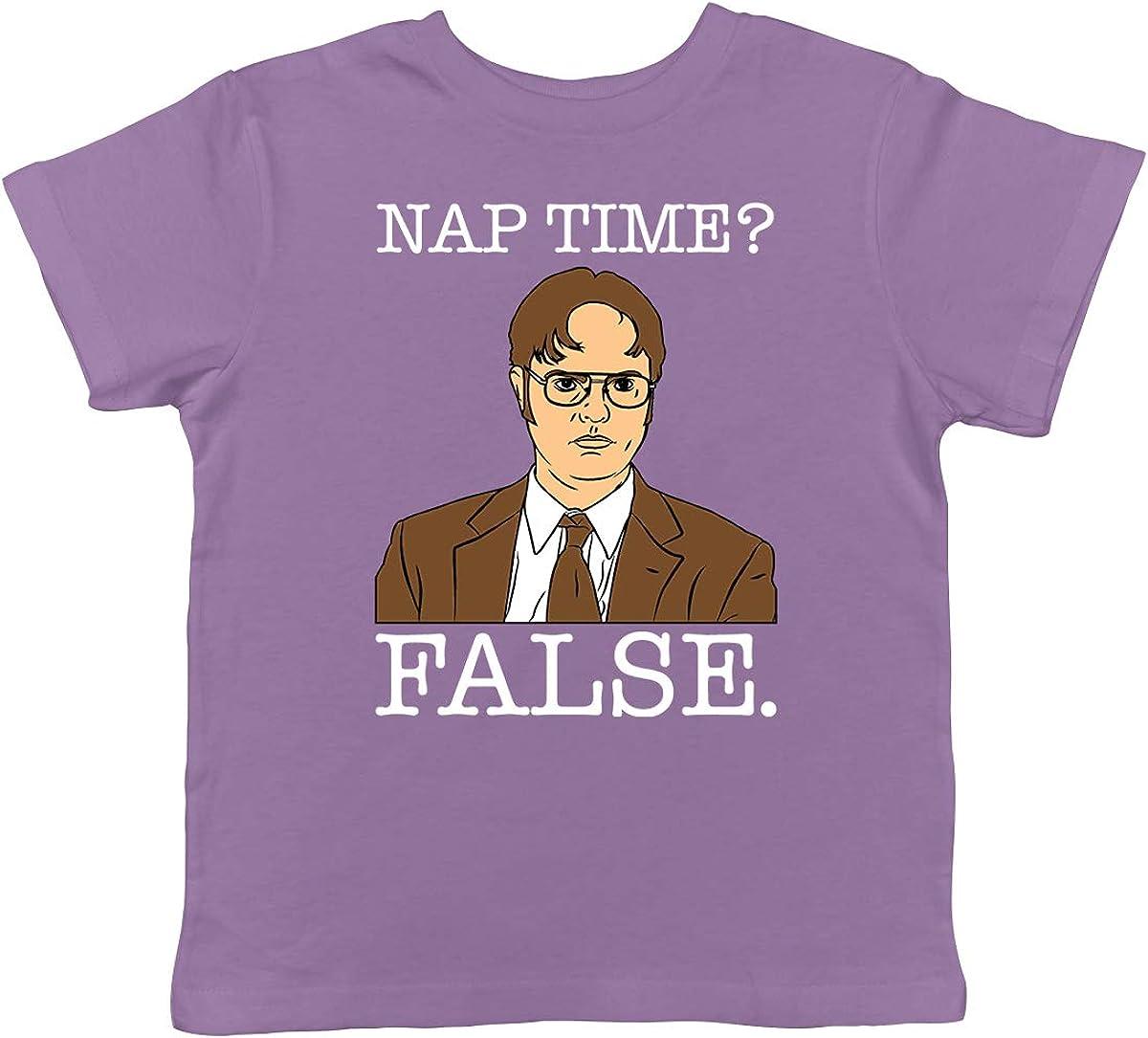 SpiritForged Apparel Nap Time? False - Dwight Toddler T-Shirt