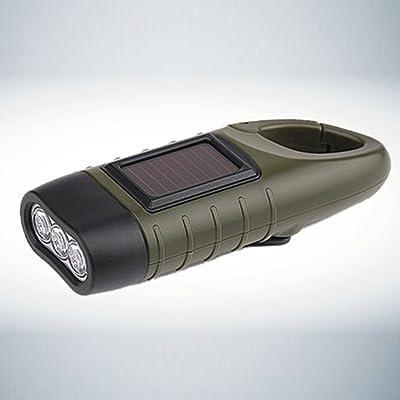 Led Dynamo 3 Solaire Lampe Forfar Portable Manivelle Torche Énergie v8nmN0w