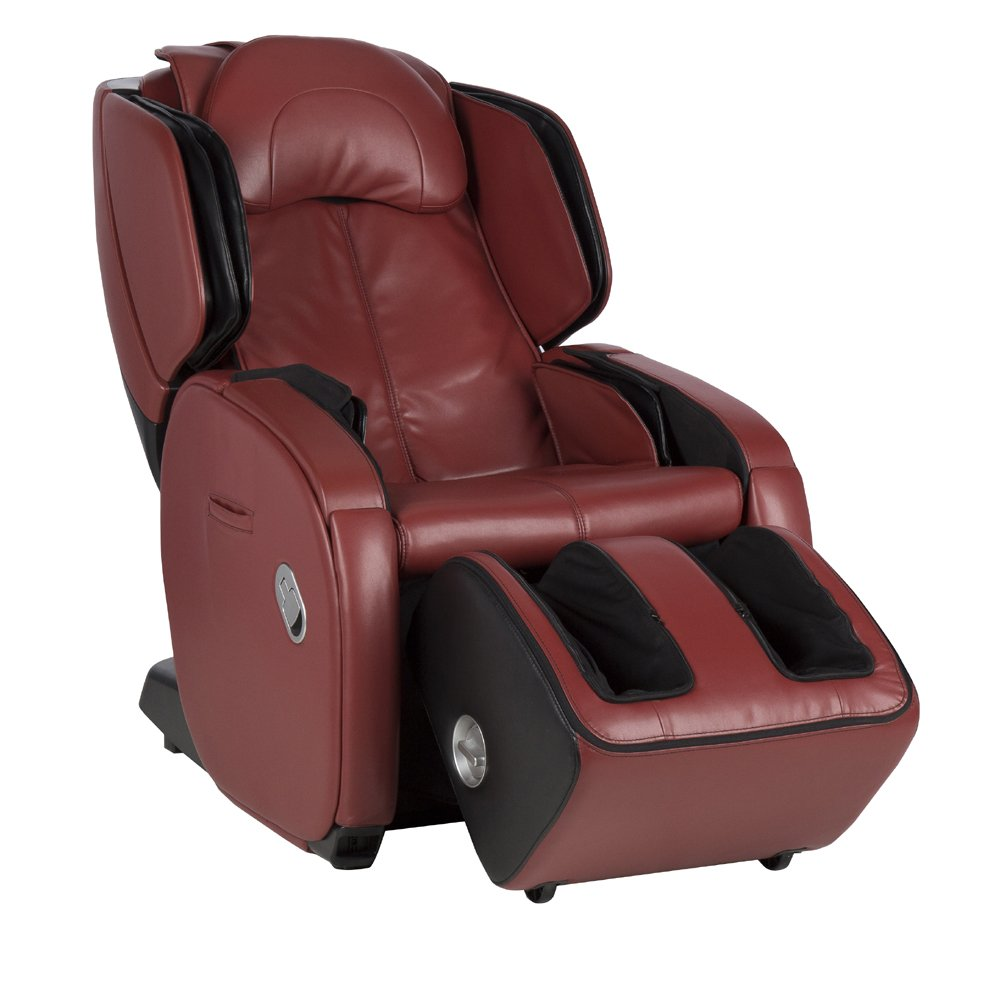 AcuTouch 6.0 Full Body Deep Tissue Therapy Massage Chair | Targeted Massage Programs | LCD Easy Remote | Red Color Option