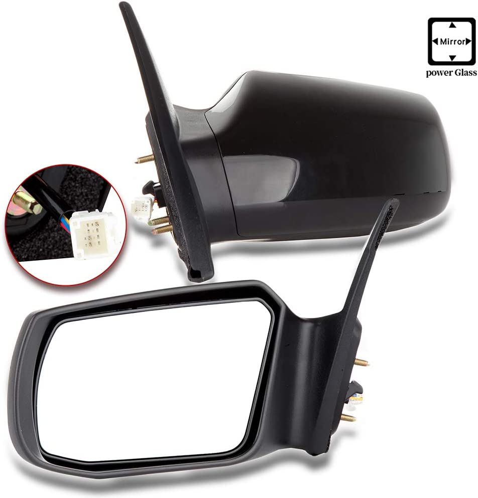 ANPART Side Mirror Left Side Compatible with 2007-2012 Nissan Altima Sedan 2007-2011 Nissan Altima Hybrid Power Adjustment Replacement Parts