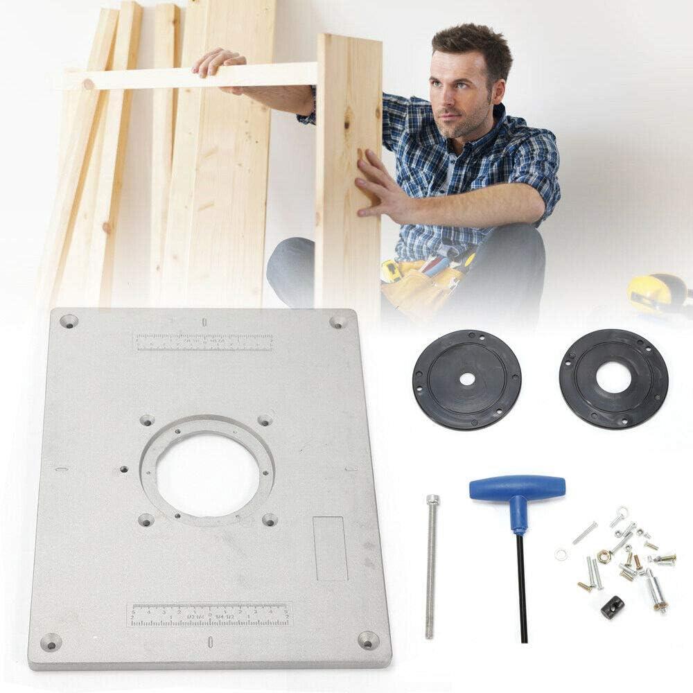 BTdahong - Placa de inserción de aluminio para fresadora de mesa ...