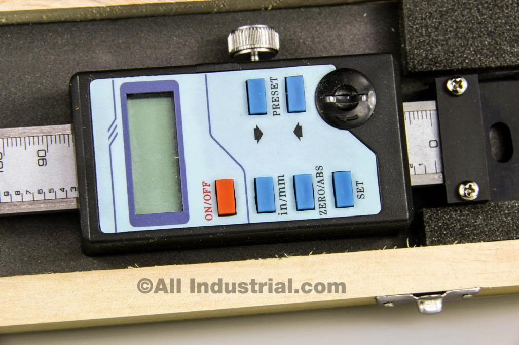 6'' Y-AXIS DIGITAL READOUT SCALE VERTICAL BRIDGEPORT MILL LATHE DRO OUTPUT