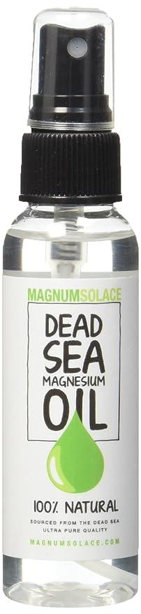 Magnum Solace - Aceite de Magnesio - Grande 60 ml - Origen Excepcional el Mar Muerto