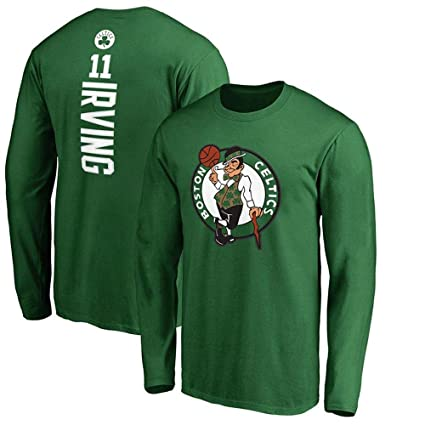on sale 653d7 29281 NBA Basketball T-Shirt Boston Celtics Long Sleeves Jacket ...
