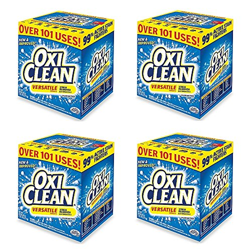 OxiClean Versatile Stain Remover Powder in 7.22 lb Box (4 pack) by OxiClean