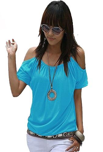 Mississhop Japan Style - Maglietta da donna 1-Türkis 42