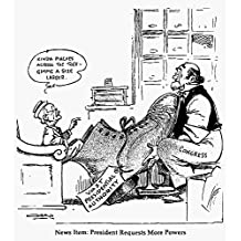 Truman And Congress, 1951. /N'News Item: President Requests More Powers.' American Cartoon By Casey Orr, 1951, Critical Of President Harry Truman For Seeking To Expand Presidential Authority Beyond His Capabilities. Poster Print by (18 x 24)