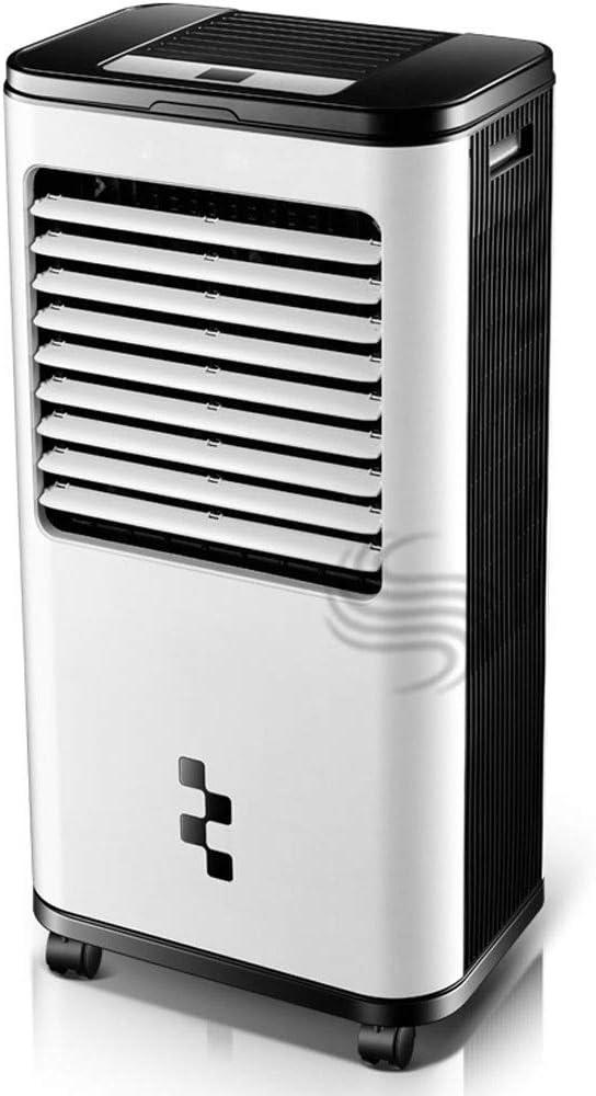蒸発クーラーはオフィス、家、寝室、地下室のスリラー、遠隔/機械、無声葉がない加湿器ファンのための移動式エアコンファンを動かしました (Color : Mechanical)