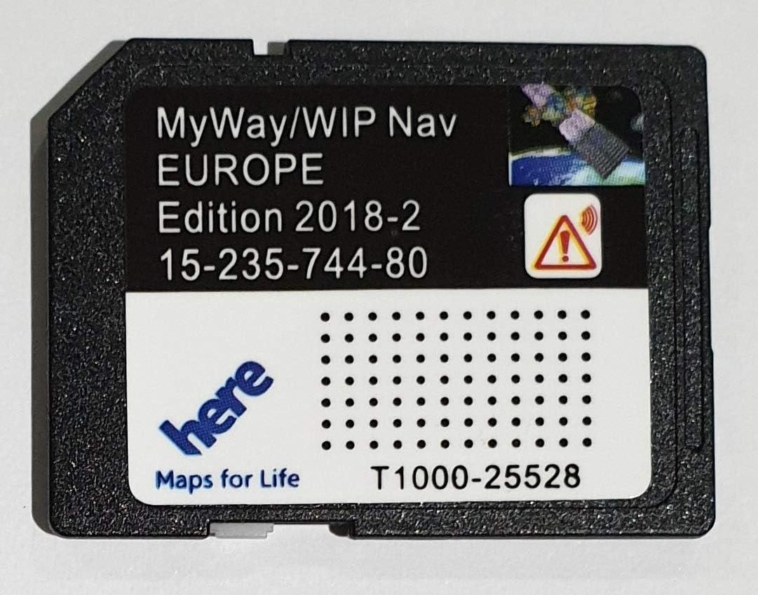 Tarjeta SD GPS RNEG 2018-1 Peugeot Citroen