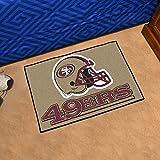 """Team Fan Gear Fanmats San Francisco 49ers Starter Rug 20""""x30"""" NFL-5836"""