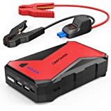 DBPOWER 1000A Portable Car Jump Starter (up to 7.0L Petrol, 5.5L Diesel Engine) Battery Booster with LED Flashlight