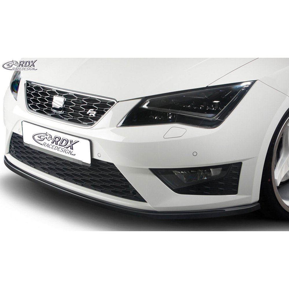 Front spoiler Seat Leon 5F SC/5-doors/ST FR/Cupra 2013- (ABS glossy black) RDX-Racedesign RDFA057