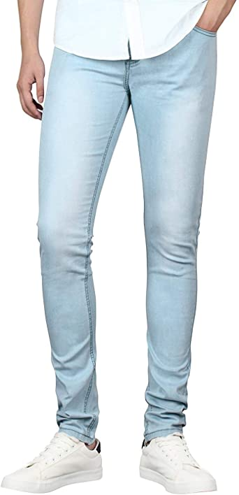 Serie Juvenil Para Hombre Flaco Slim Fit Jeans Moda Vintage Stretch Comodo Denim Pencil Pants Pantalones Jeans Pantalones Color Dh8048 2 Size 30 32l Amazon Es Ropa Y Accesorios