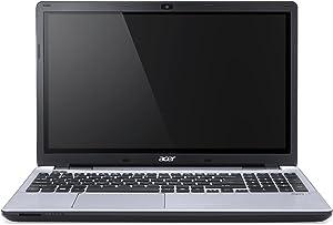 "Acer Aspire V3-572-78S3 Laptop (Windows 8, Intel Core i7 4510U 2.0 GHz, 15.6"" LED-lit Screen, Storage: 1 TB, RAM: 8 GB) Platinum Silver"