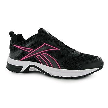 Reebok Pheehan Run 4 Running Shoes Womens Blk Pink (UK4) (EU37) (US6 ... 60e134351
