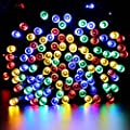 Qedertek Christmas String Lights 52.5ft 200 LED Battery Powered Fairy lights for Indoor/Outdoor Home, Curtain, Patio, Lawn, Garden, Party, Wedding, Seasonal Holiday, and Christmas