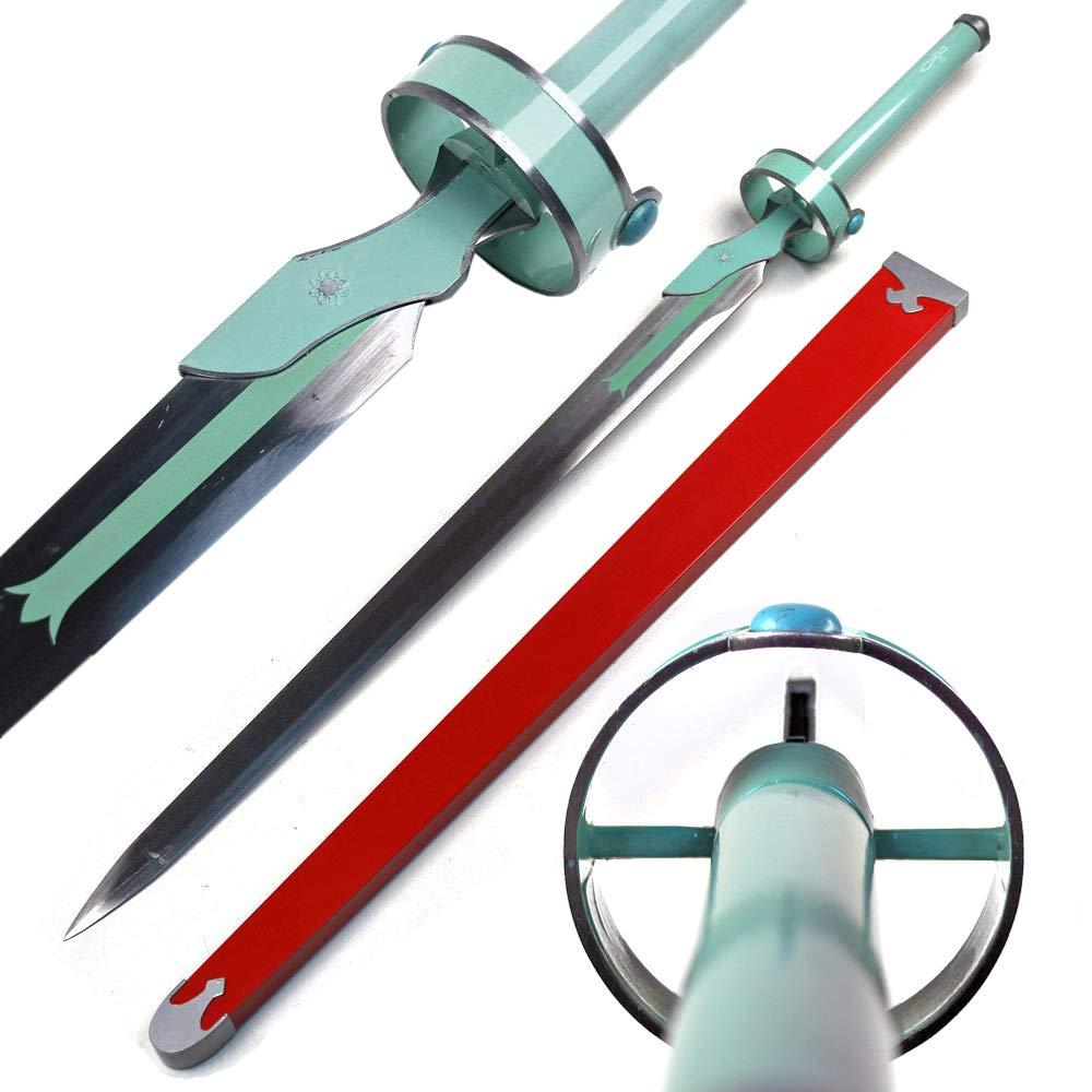 Sword Art Online Asuna Yuuki Lambient Light White Carbon Steel Replica Sword by Sword Art Online