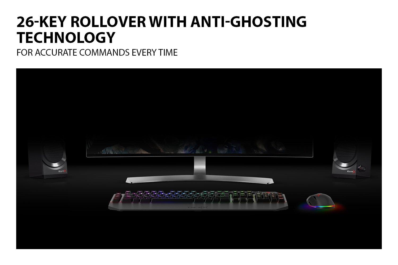 Sound BlasterX Vanguard K08 SE Gaming Keyboard (Black)
