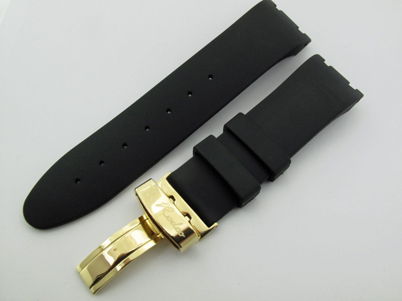 Joe Rodeo Men's Watch Band Strap Fit All Master Model Yellow Color Clasp. by Joe Rodeo (Image #2)