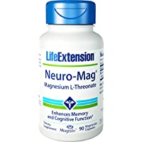 Neuro-Mag Magnesium L-Threonate Life Extension 90 VCaps