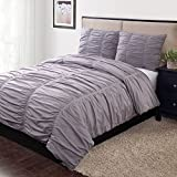 Home Classics Avery 3-pc. Duvet Cover Set (California King, Purple)