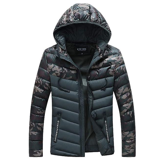 Mantel Outdoorjacke Warme Baumwolle Outdoor Jacken Kapuze Gefüttert Daunenjacke Verdickung Winterjacke Herren Tohole Camouflage Nähte BQWdxrCoe
