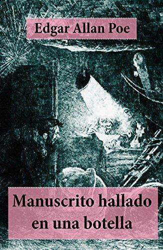 Portada del libro Manuscrito hallado en una botella de Edgar Allan Poe