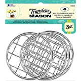 Loew-Cornell Frog Wide Mouth Transform Mason Ball Lid Inserts, 4-Pack