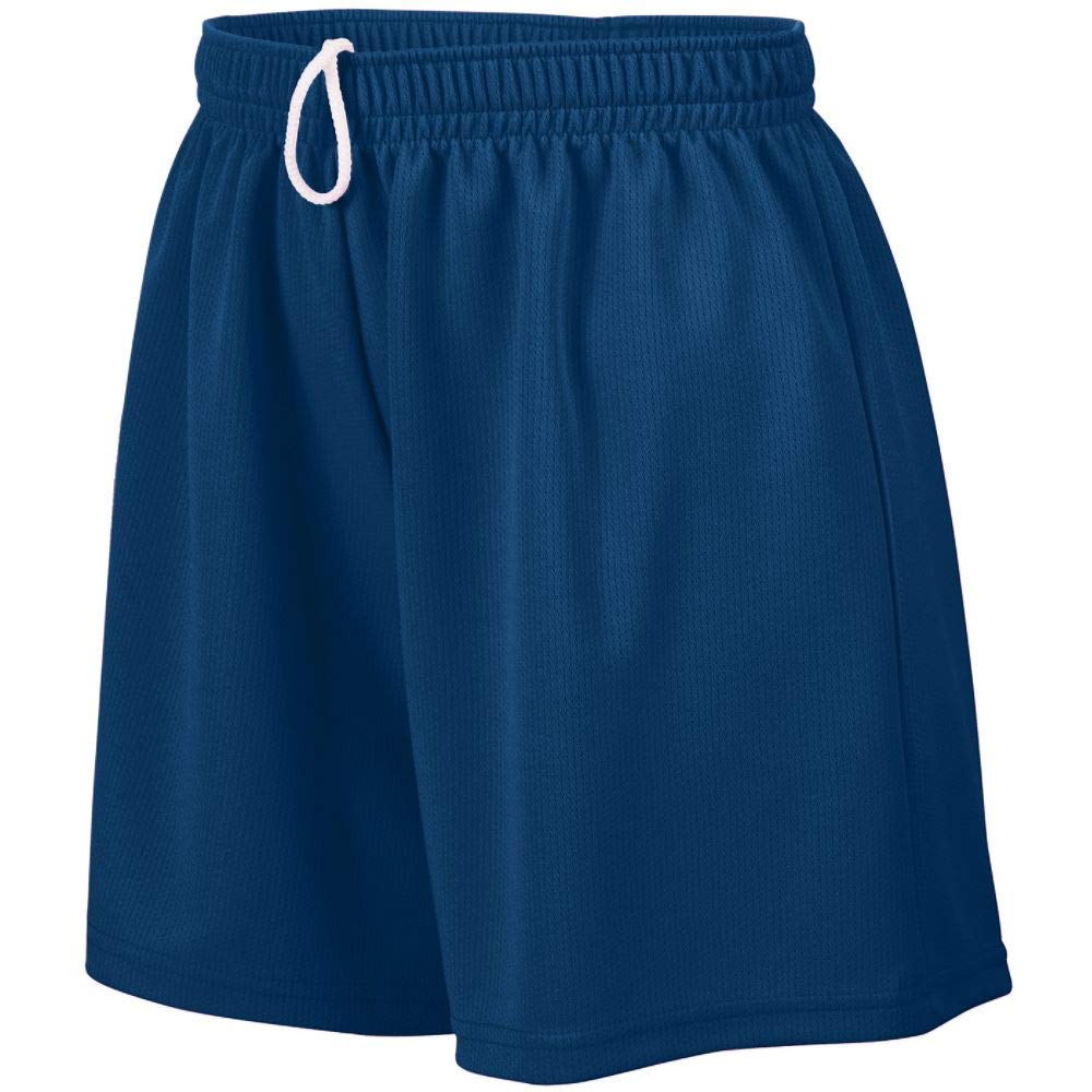 Augusta Sportswear Augusta Girls Wicking Mesh Short, Navy, Large by Augusta Sportswear