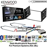 Volunteer Audio Kenwood DDX9904S Double Din Radio Install Kit with Apple CarPlay Android Auto Bluetooth Fits 2003-2011 Crown Victoria, 2005-2007 Escape