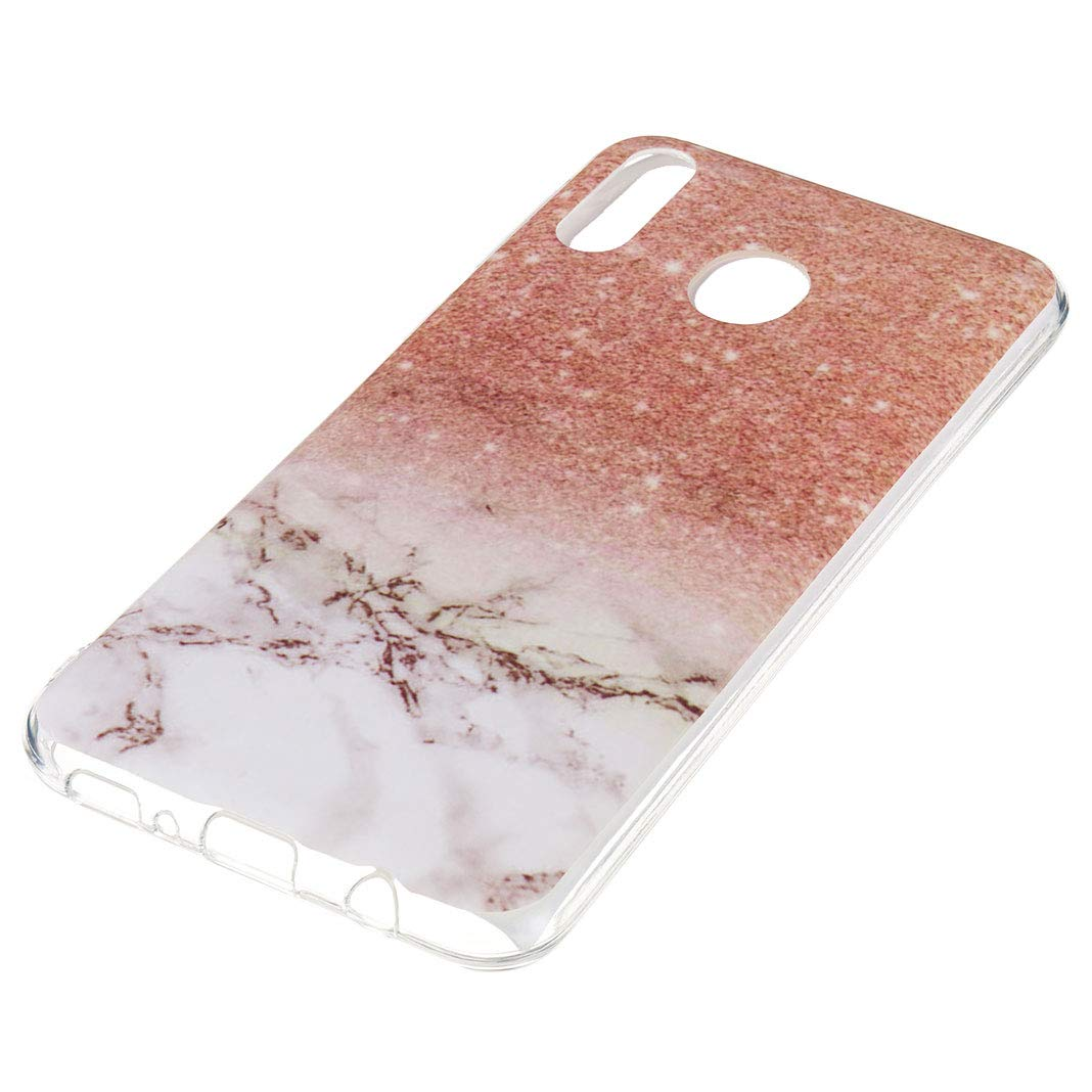 Amazon.com: Galaxy M20 Slim Case, Galaxy M20 Marble Texture ...