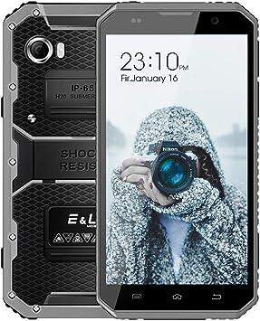 Teléfono Movil Resistente, EL W9 IP68 Impermeable Antigolpes ...