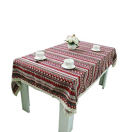 NiSeng Tovaglie per ristorazione Tovaglia Antimacchia Rettangolare ...