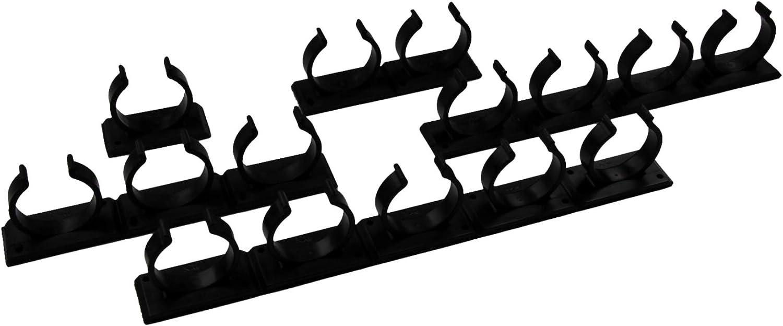 Organizador para Especias para Pegar Kamoro HOME /& KITCHEN Estanter/ía para Especias sin Agujeros 6 Tiras para 30 Especias